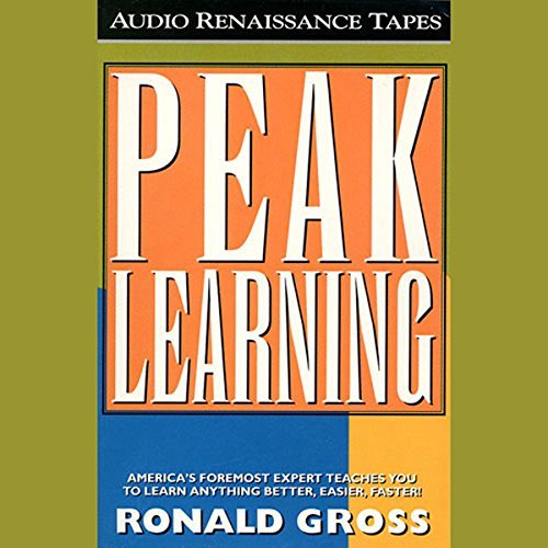 Peak Learning audiobook cover art