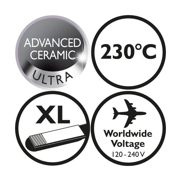 Remington Pro Ceramic Ultra S5505 – Plancha de Pelo, Cerámica Avanzada,