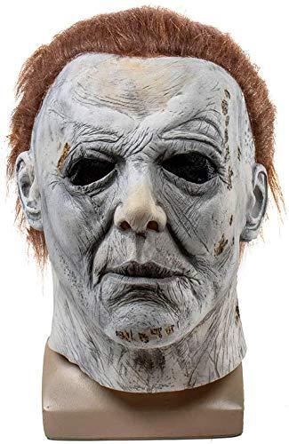 miwaimao Halloween 2020 Michael Myers Máscara Trick Or Treat Studios Scary Máscara Jason Voorhees, ojos normales