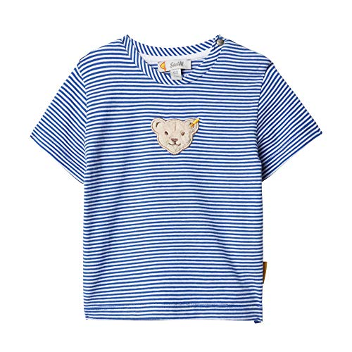 Steiff Jungen T-Shirt, Blau (Surf In The Web 6002), 56