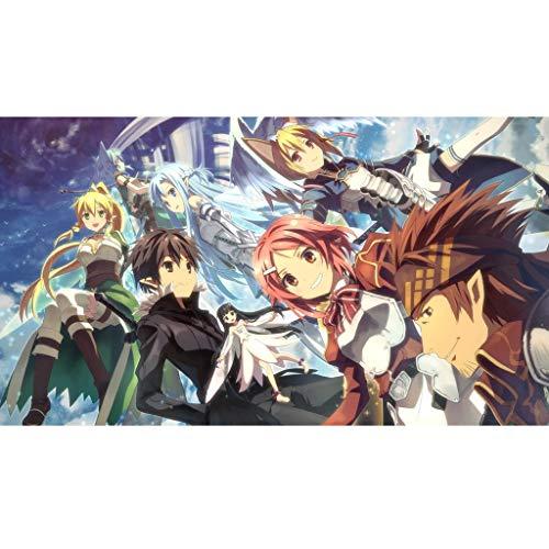 Gn shop Puzzle - Sword Art Online For Animado De Madera del Regalo De Cumpleaños del Juguete Rompecabezas 300/500/1000/1500 Piezas Niños Adultos TG (Color : A, Size : 300PC)