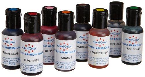 Airbrush 8 Farben-Set AmeriColor AmeriMist (8x19ml)