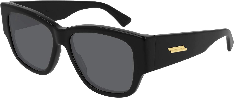 Bottega Veneta BV1026S BLACK Outstanding GREY Sunglasses 16 women 55 145 Over item handling ☆