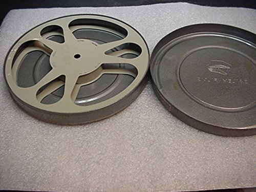 16mm 16 mm 7 Inch Metal Film Reel And Metal Storage Canister For 16mm Film Projector.