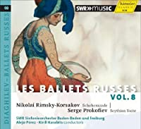 Les Ballets Russes 8 by RIMSKY-KORSAKOV / PROKOFIEV (2012-09-25)