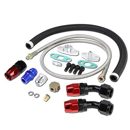 ADN de motor ofl-kit-008Universal Turbocompresor/piensos en la línea de drenaje de aceite kit
