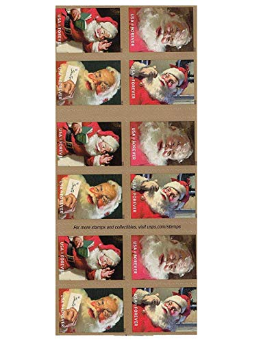 Sparkling Holiday Forever Postage Stamp 1 Books of 20 First Class US Postal Christmas Celebrations Wedding Anniversary Party Traditions (20 Stamps)