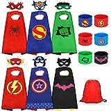 Jojoin 6 Pcs Capas de Superhéroe para Niños,...