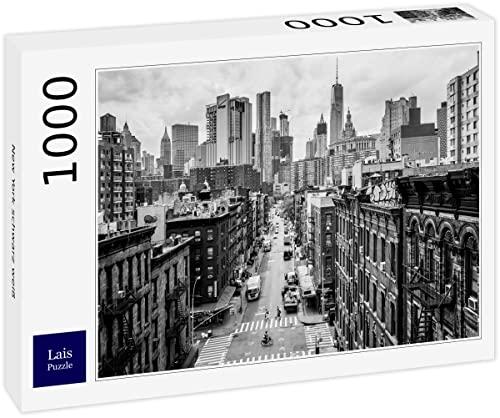 Lais Puzzle Nueva York Negro Blanco 1000...