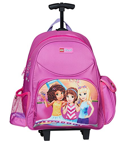 LEGO Friends Funpark Trolley Kinder-Rucksack, Pink