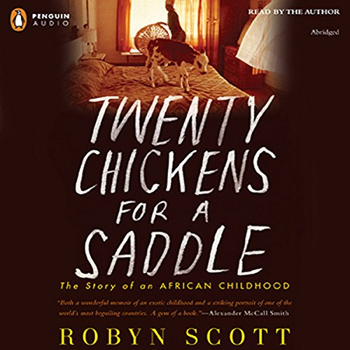Twenty Chickens for a Saddle audiobook cover art