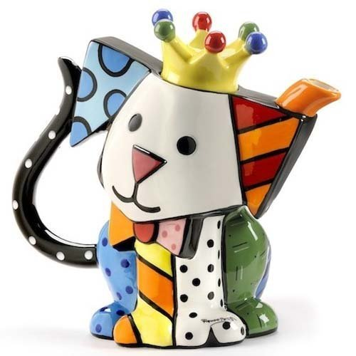 Why Choose Romero Britto – Teapot Dog  Teapot