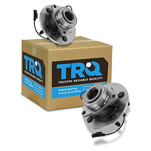 TRQ Wheel Bearing & Hub Assembly Front Left & Right Pair Set for Dodge Ram 1500