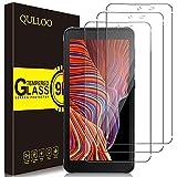 QULLOO Protector de Pantalla Samsung Galaxy Xcover 5, Cristal Templado [9H Dureza][Alta Definición][Fácil de Instalar] para Samsung Galaxy Xcover 5-3 Piezas