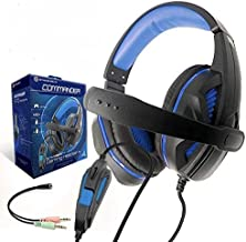 Strike Gear Commander Compatible with Xbox One, PS4, PC, Nintendo Switch, Surround Stereo Gaming Headset with Soft Ear Pad...
