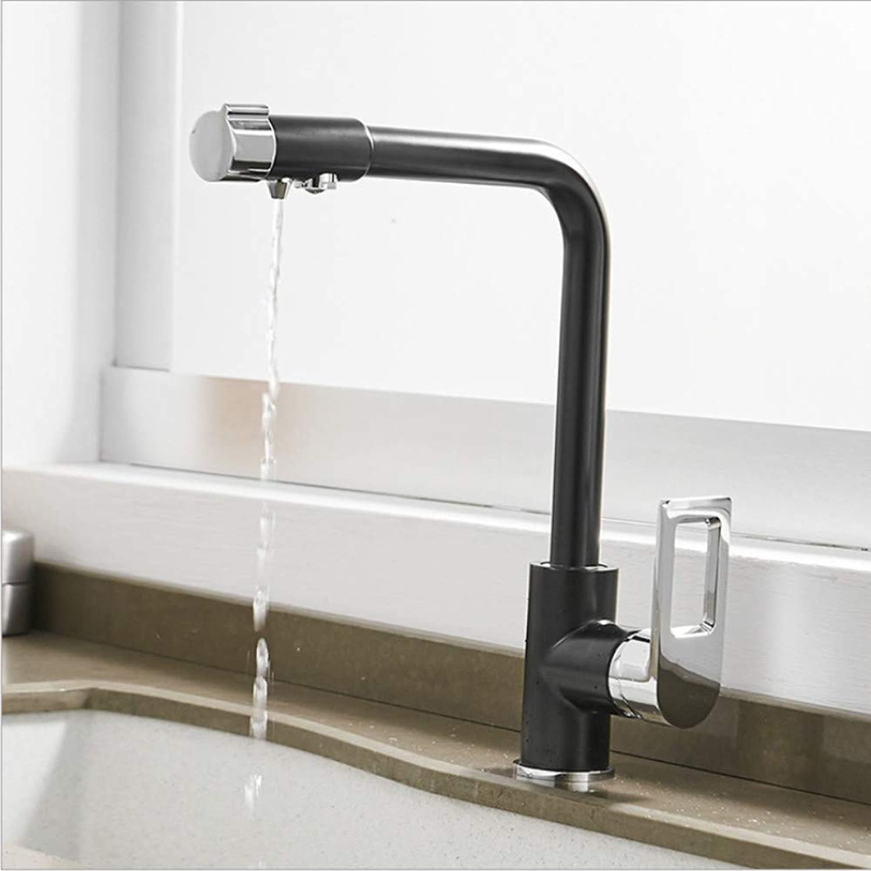 Jukunlun Water Filter Taps Kitchen Faucets Brass Mixer Drinking Kitchen Purify Faucet Kitchen Sink Tap Water Tap Crane for Kitchen