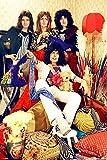 Close Up Póster Queen - Band (61cm x 91,5cm) + 1 póster Sorpresa de Regalo