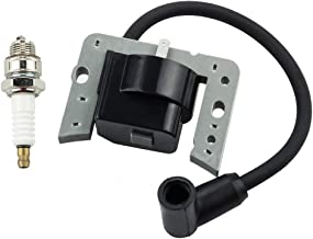 Leopop Ignition Coil Module for Tecumseh OHH45 OHH50 OHH55 OHH60 OHH65 H35 H40 H50 H60 H70 HH50 with Spark Plug Parts Kit Engine Lawn Mower