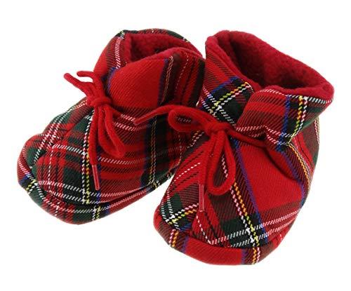 Highland Tweed scozzese Royal Stewart Tartan morbido stivaletti – Made in Scotland, Blu