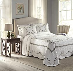 Modern Heirloom Collection Heather Oversize Bedspread