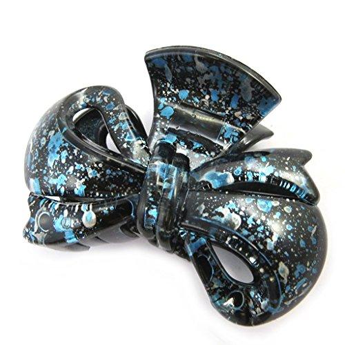 Les Trésors De Lily [M7550] - Pince 'Scarlett' bleu (8x6x4 cm)