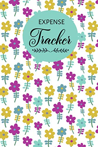 Expense Tracker Purple Yellow Sky Flower Pattern: Keep Track Daily Expense Tracker Purple Yellow Sky Flower Pattern