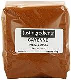 JustIngredients Essential Pimienta de Cayena - 5 Paquetes de 250 gr - Total: 1250 gr