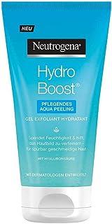 Neutrogena Hydro Boost närande Aqua Peeling (150 ml) / innovativ peeling med mjuka, hudutjämnande mikropärlor som rengör s...