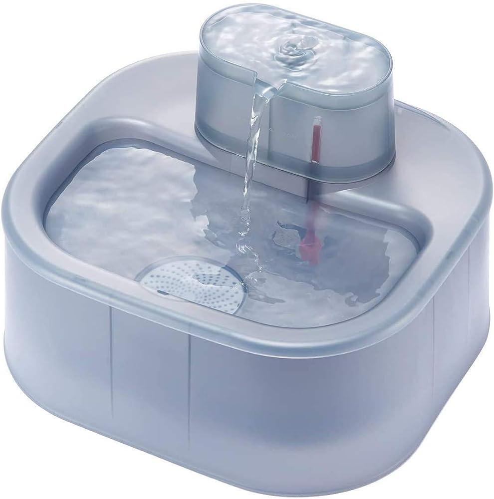 Honeyguaridan, fontana automatica d'acqua, per cani e gatti, 6l con pompa ultra-silenziosa