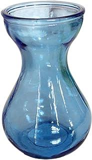 Jarrón de cristal hidropónico y colorido de Ouflower para decoración del hogar y la oficina