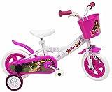 Masha et l'Ours Vélo Enfant Blanc 10'