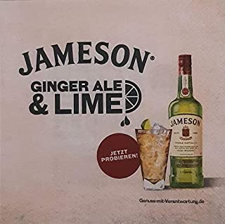 Jameson Irish Whiskey Bar Servietten
