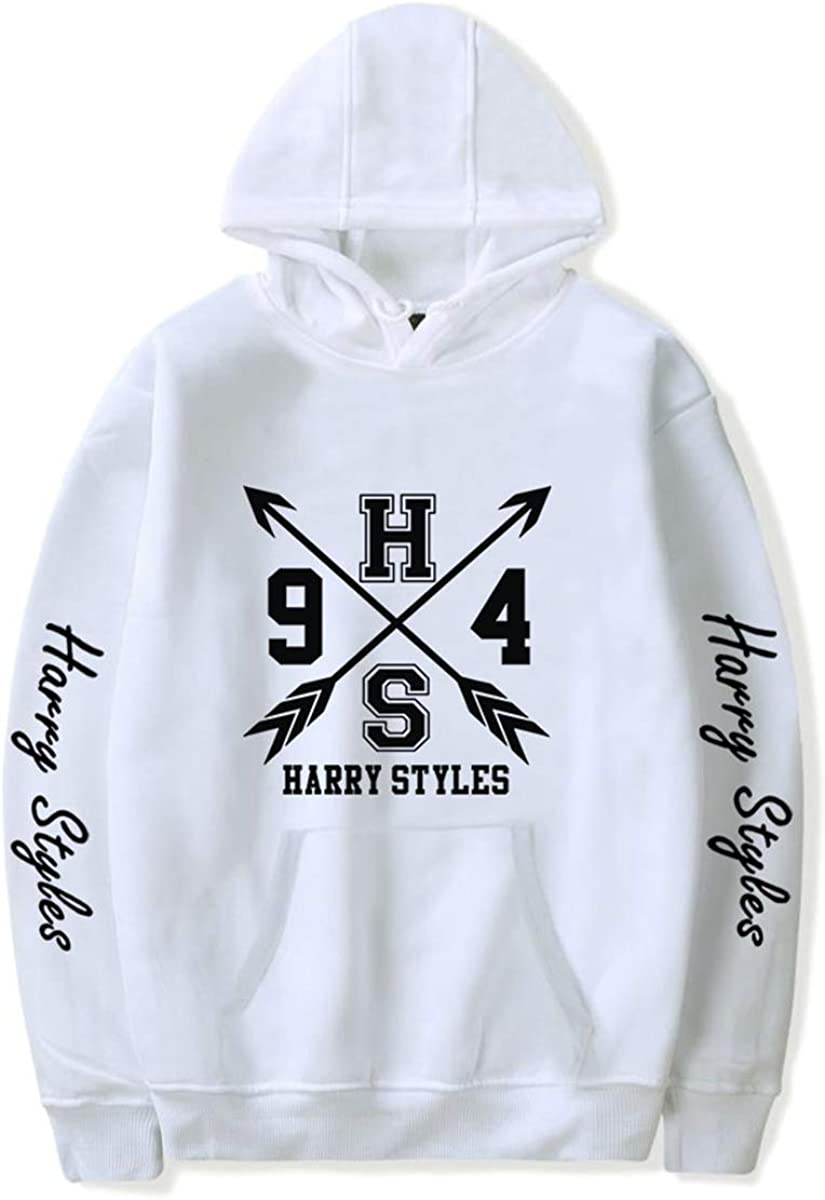 Fashion Unisex Harry-Styles Casual Round Necklace Top Hoodies Sweatshirts For Funs