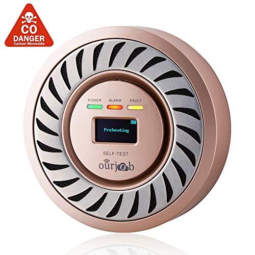 Detector de CO Alarma de monóxido de Carbono de ourjob