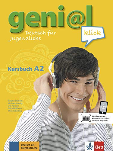 geni@l klick a2, libro del alumno + cd: Kursbuch A2 mit 2 Audio-CDs: Vol. 2 (ALL NIVEAU ADULTE TVA 5,5%)