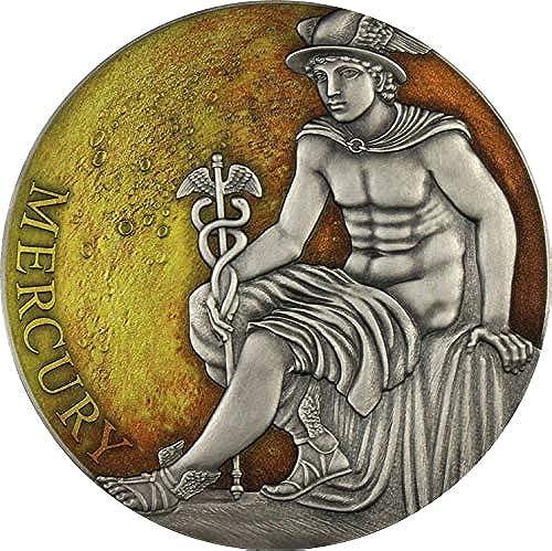 comprar mejor Power Coin Mercury Mercurio Classic Classic Classic Gods Planets 3 Oz plata 3000 Francos Cameroon 2019  envio rapido a ti