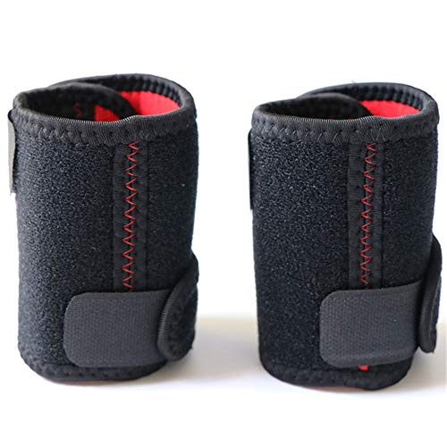 Sport Bracers, Sterke elasticiteit, sterke zweetabsorberende stof, comfortabel en duurzaam - Zwart