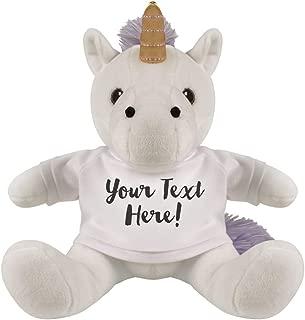 Customizable Unicorn for Gifts: 8 Inch Unicorn Stuffed Animal