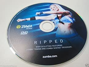 Zumba Ripped Workout DVD from the Exhilarate DVDs set