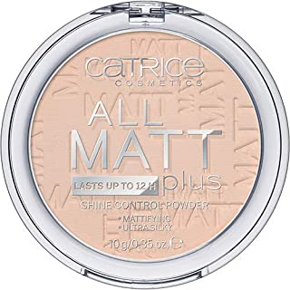 Catrice All Matt Plus Shine Control Powder 010 Transparent, Nude, 10 gm