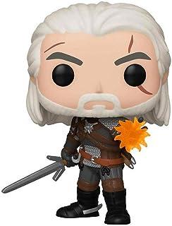 Boneco The Witcher Geralt (IGNI) Pop Funko 554 - SUIKA