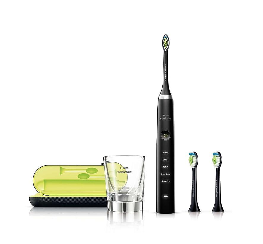 効能あるカロリースローガンPHILIPS(フィリップス) 電動歯ブラシ ソニッケアー ダイヤモンドクリーン ブラック HX9313/54