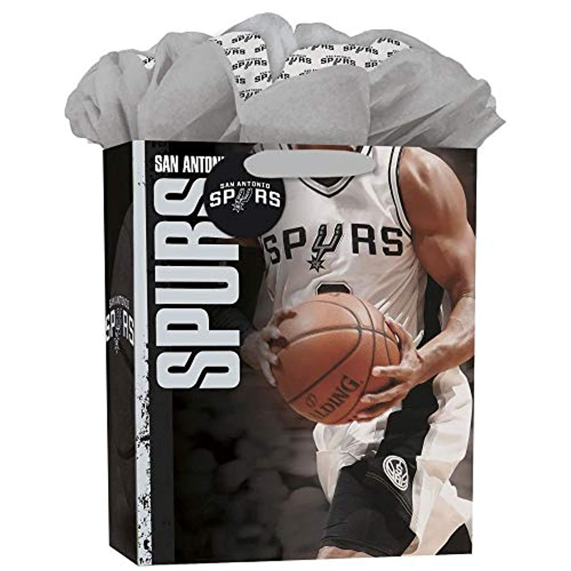 Turner Licensing Sport San Antonio Spurs Large Gogo Gift Bag (8931039)