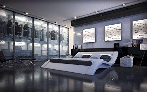 Sofa Dreams Compleet bed Massa Wit met matras en lattenbodem 140x200, 160x200, 180x200, 200x200,m 200x220cm