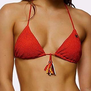 b1e6b42434 BANANA MOON FEBO Crochet, Haut de Bikini Triangle, Orange