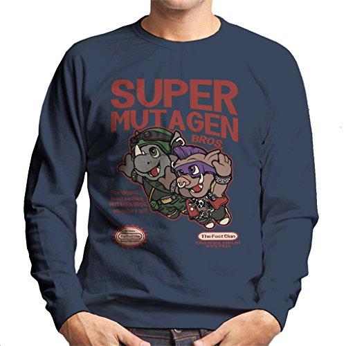 Super Mutagen Bros Teenage Mutant Ninja Turtles Super Mario Mix Men's Sweatshirt