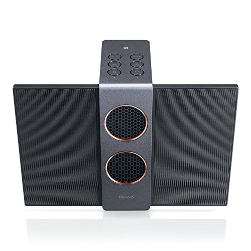 BenQ Trevolo S Wireless Bluetooth Portable Electrostatic Speaker, 3D Mode, NFC, USB DAC, 18 Hrs Playing Time (Black)