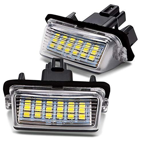 LncBoc LED Luz matricula para coche Lampara Numero plato luces