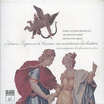 """Kusser: 6 Ouvertures de théâtre """"Apollon enjoué"""""""