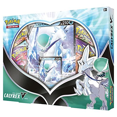 Pokemon TCG: Ice Rider Calyrex V Box